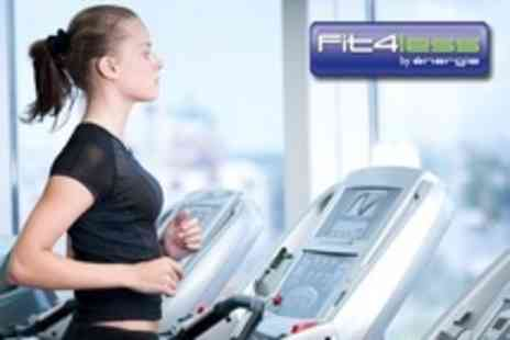 Fit4Less - Ten Gym Passes Plus Access to Boot Camps and One Personal Training Session - Save 50%