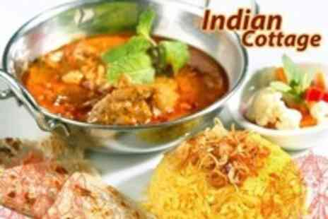 Indian Cottage - Two Course Meal For Two - Save 61%