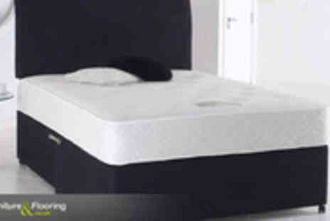 Furniture and Flooring - Dream the dark winter nights away with this divan bed - Save 82%