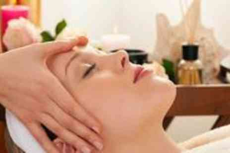 IPL Cosmetics - 60 minute brightening facial and your choice of 30 minute back neck and shoulder massage - Save 77%