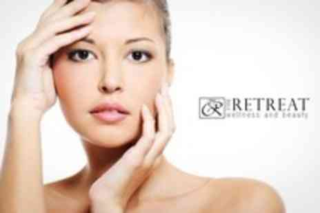 The Retreat Wellness and Beauty - Choice of Two Treatments Such as Facial and Jessica Express Manicure - Save 60%
