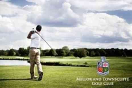 Mellor and Townscliffe Golf Club - 18 Holes of Golf For Two - Save 66%