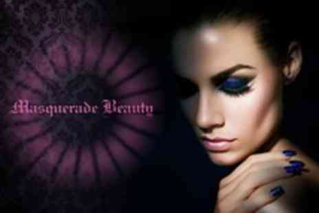 Masquerade Beauty - Three Treatments Such as Pedicure, Facial and Back Massage - Save 68%