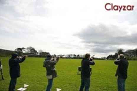Clayzar - One Hour Laser Clay Pigeon Shooting Experience For One - Save 20%