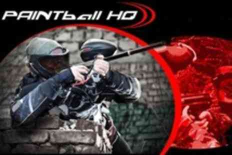 Paintball HQ - Paintballing For Two - Save 83%