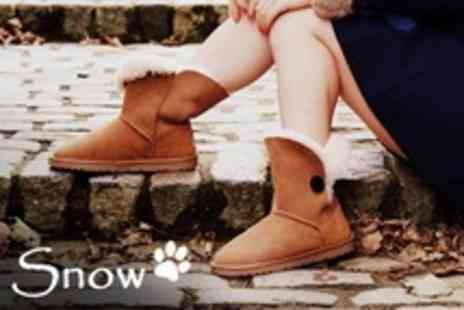 Snow Paw Boots - One Sheepskin Winter Boots Pairs - Save 67%