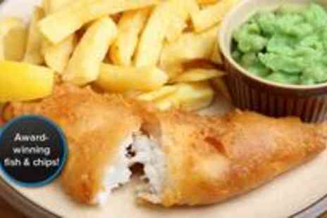 Bretts Takeaway - Fish and chips takeaway for four - Save 61%