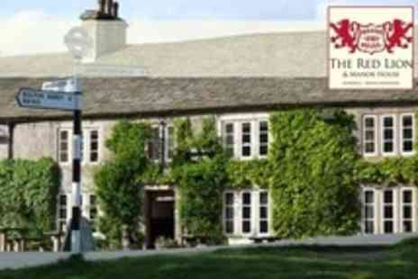 The Red Lion and Manor House - One Night Stay For Two With Breakfast - Save 49%
