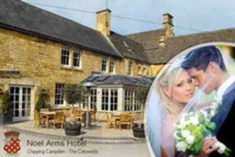 The Noel Arms Hotel - Cotswolds Wedding Package with Four Course Meal, Evening Reception - Save 65%