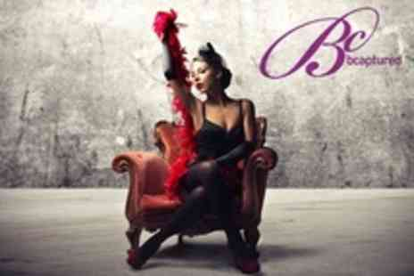 Bcaptured Photography Studios - Vintage Pin Up Photoshoot With Makeover and Print - Save 70%