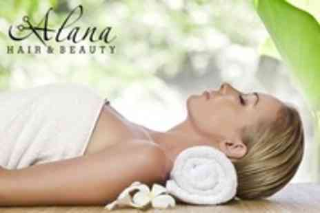 Alana Hair and Beauty - Luxury Facial Plus Aromatherapy or Swedish Massage - Save 61%