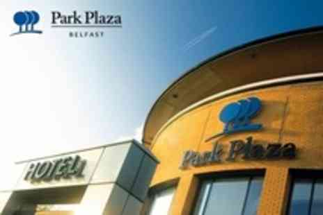 Park Plaza Belfast - Overnight Stay For Two In Superior Room With Breakfast and Cocktail Each - Save 50%