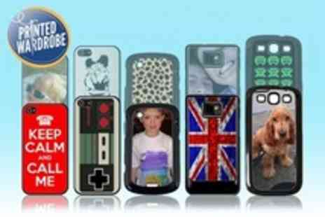 Printed Wardrobe - Personalised Phone Case For Apple, BlackBerry or Samsung - Save 60%