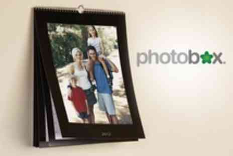 PhotoBox - One Personalised Photo Calendars in A4 - Save 70%