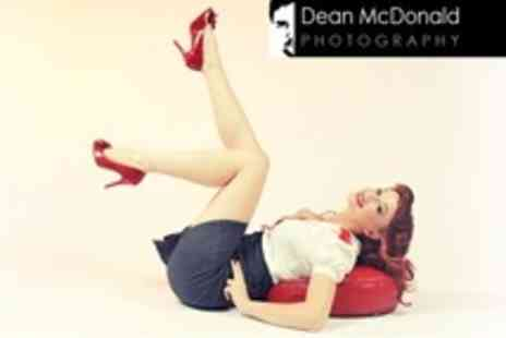 Dean McDonald Photography - Vintage or Fashion Photoshoot With Makeover and Print - Save 85%