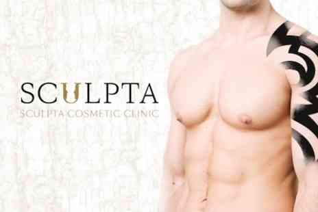 Sculpta Harley St Cosmetic Clinic - Course of Three Laser Tattoo Removal Treatments  - Save 80%