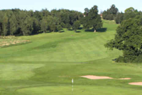 Thornbury Golf Centre  - 18 Holes of Golf with a Burger Each for Two - Save 54%