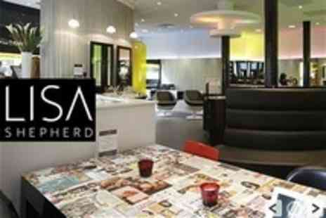 Lisa Shepherd - Half Head Highlights or Full Head Colour Plus Cut, Conditioning and Blow Dry - Save 69%