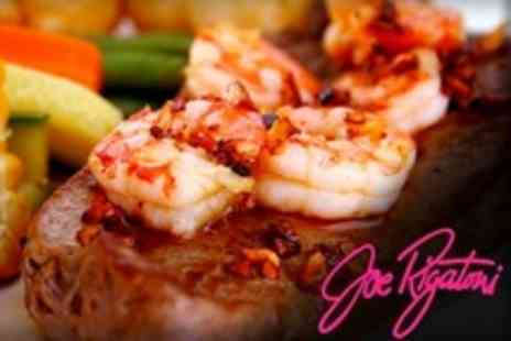 Joe Rigatoni - King Prawns and Fillet Steak Dinner For Two - Save 56%