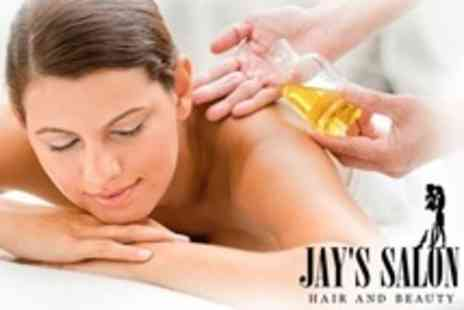 Jays Hair and Beauty - One Hour Full Body Aromatherapy Massage - Save 55%