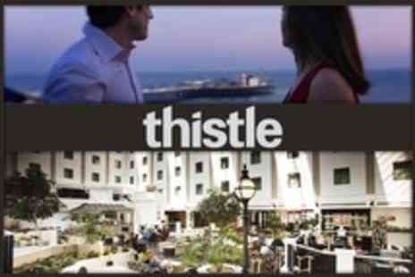 Thistle Hotel Brighton - One Night 4 star Stay For Two With Breakfast and Leisure Club Access - Save 31%