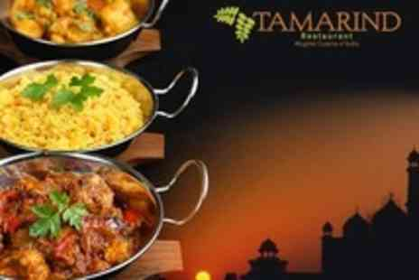 Tamarind Restaurant - Three Course Indian Meal For Two With Coffee - Save 57%