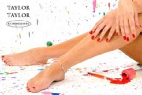 Taylor Taylor Nails - Gel Manicure or Pedicure - Save 55%
