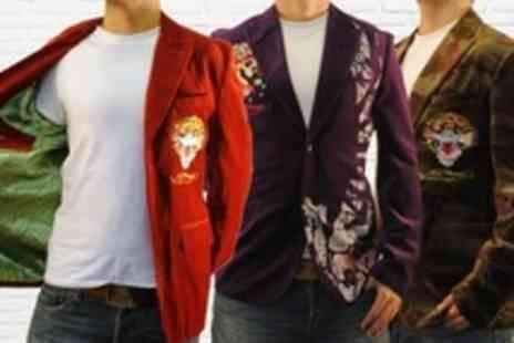 Born on the Streets - Ed Hardy Military Blazers - Save 80%
