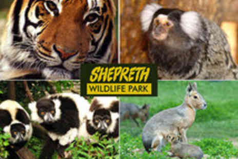 Shepreth Wildlife Park - Adult and Child Entrance Ticket - Save 47%