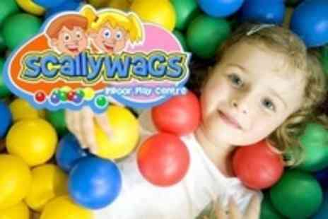 Scallywags Indoor Play Centre - Childrens Party For 20 Guests - Save 72%