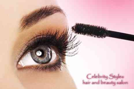 Celebrity Styles - £8 for Eyebrow Threading and Tinting, and Eyelash Tinting at Celebrity Styles - Save 60%