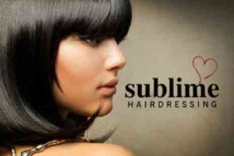 Sublime Hairdressing - Cut and Blow Dry - Save 59%
