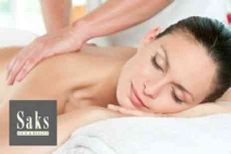 Saks Beauty Newark - Elemis Facial With Back Massage - Save 68%