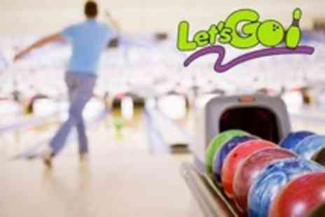 Lets Go Barnstaple - Six Games of Ten Pin Bowling - Save 52%