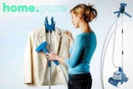 Electrics Warehouse - HomePure Clothes and Fabric Steamer - Save 59%