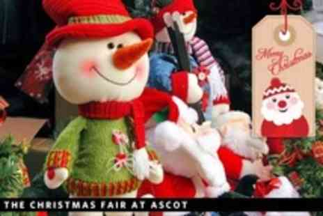 UK Grand Sales - Two Tickets to The Christmas Fair at Ascot - Save 50%