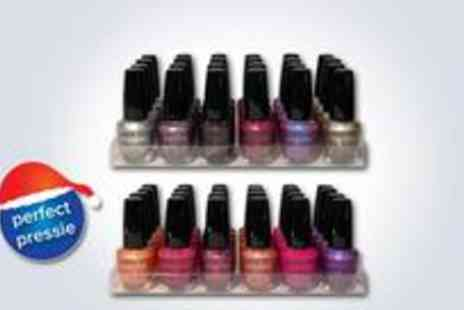 K4NUB Ltd - 24 London Girl nail polishes - Save 72%