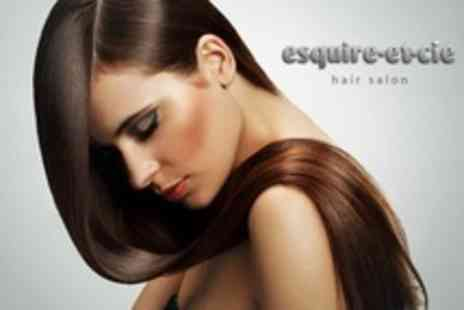 Esquire-Et-Cie - La Brasiliana Keratin Treatment With Cut and Finish - Save 77%