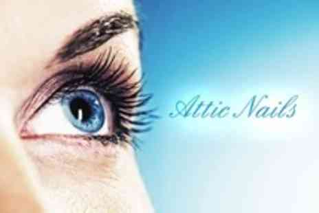 Attic Nails - Full Eyelashes Set of AH Francis Extensions - Save 24%