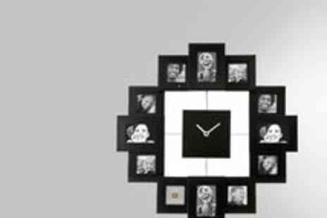 Clearance Deal - Family Photo Clock - Save 57%