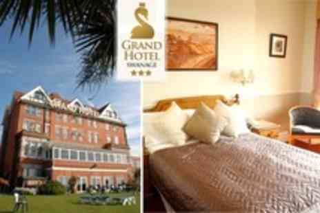 The Grand Hotel - Two Night Stay For Two With Spa Access and Breakfast - Save 60%