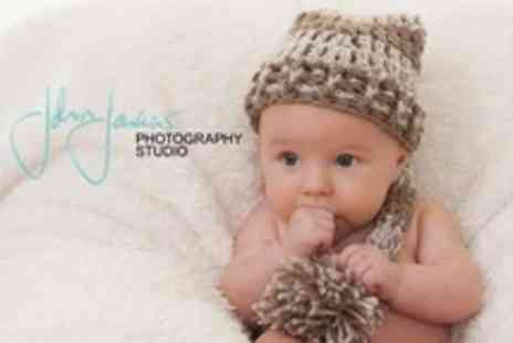 John Jenkins Photography Studio - Family Photo Shoot With Album, Wallet Prints and Media Files - Save 96%