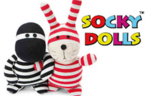 All Things Kidz - Microwaveable Socky Dolls  two adorable designs to choose from - Save 55%