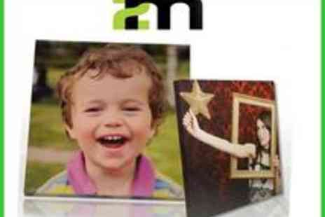2mphotobooks - 12x16 personalised photo canvas - Save 50%