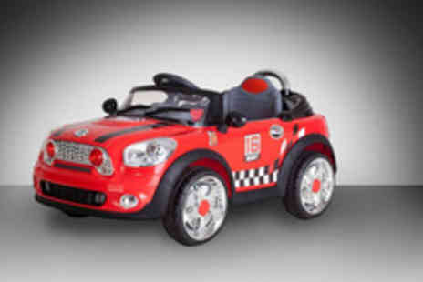 Netgadgets - 2013 Mini Cooper Ride on Car take things up a gear - Save 42%
