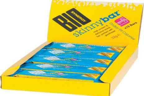 Bio Synergy - Box of Bio Synergy Skinny Protein Bars - Save 50%