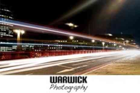 Warwick Photography - Three Hour Night Photography Class With Print - Save 83%