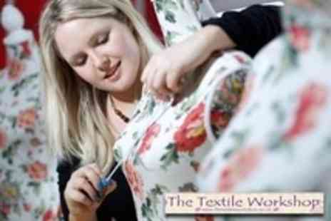 The Textile Workshop - Make Your Own Dress or Bag Choice of Six Hour Workshop - Save 61%
