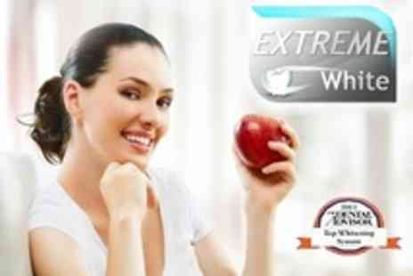 Extreme White - Laser Teeth Whitening 60 Minute Treatment - Save 84%