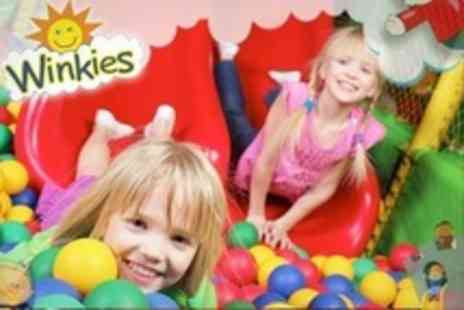 Winkies - Kids Play Centr: Entry For Two Children With Squash Drink - Save 50%